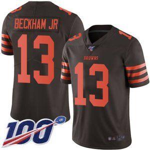 Browns Odell Beckham Jr 100th Season Jersey 1